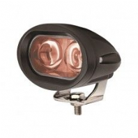 DURITE <BR>Red 2 LED Spot Lamp - 10-60V<br>ALT/0-420-83